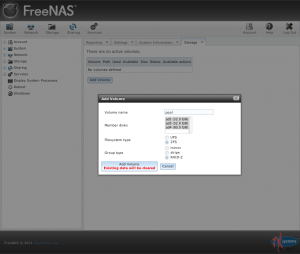 FreeNAS 8 RC2 2